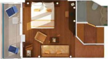 Cabin floor plan