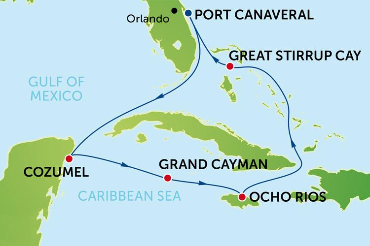 Cruise to Western Caribbean from Orlando with Norwegian Epic